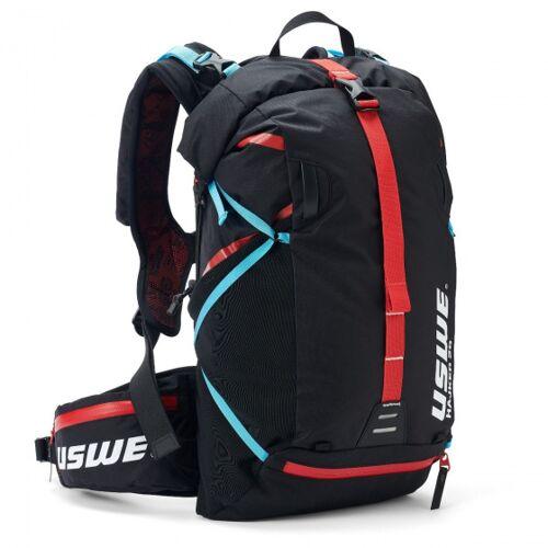USWE rucksack Hajker 30 Liter Polyester schwarz/rot
