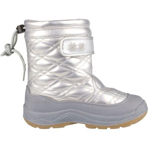 Winter-Grip Winter Grip Snow Boots Girls Quilt Silver / Grey Size 28