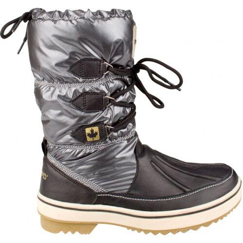 Winter-Grip Winter Grip Snow Boots schnüren sich oben Kohle Ladies Größe 39