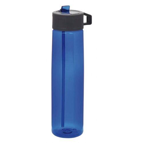 XD Collection trinkflasche mit Strohhalm 750 ml Polypropylen blau