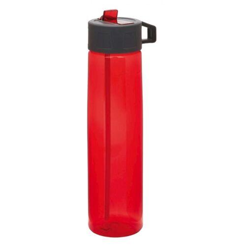 XD Collection trinkflasche mit Strohhalm 750 ml Polypropylen rot