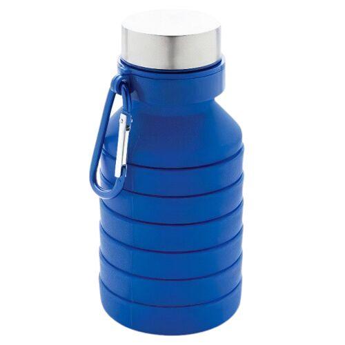 XD Collection trinkflasche faltbar auslaufsicher 550 ml blau