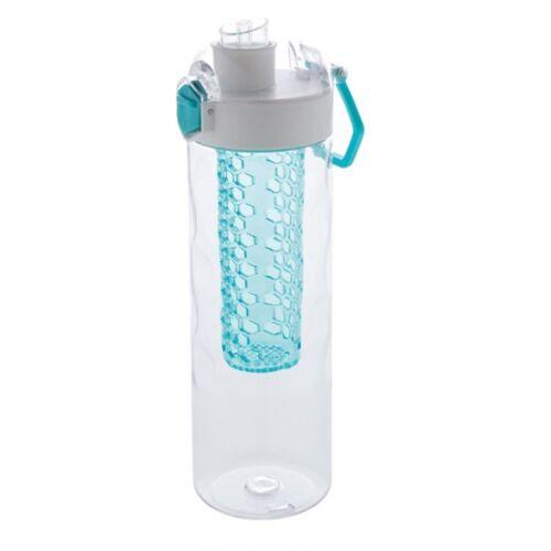 XD Xclusive trinkflasche mit Wabe 700 ml Silikon türkis