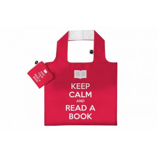 Any Bags faltbarer Shopper Keep Calm 48 cm rot