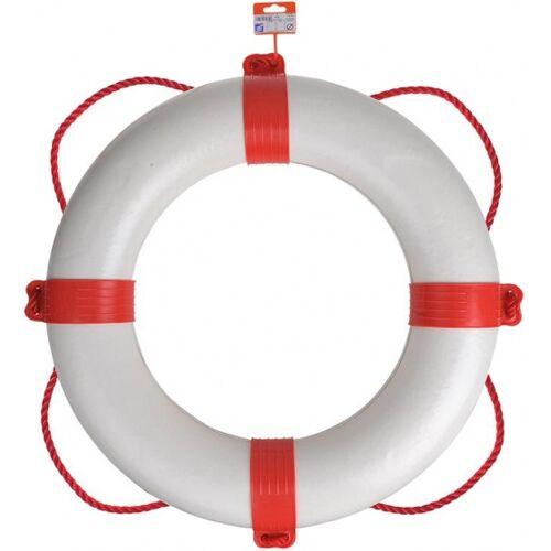 Seilflechter Rettungsring Ø60 cm weiß / rot