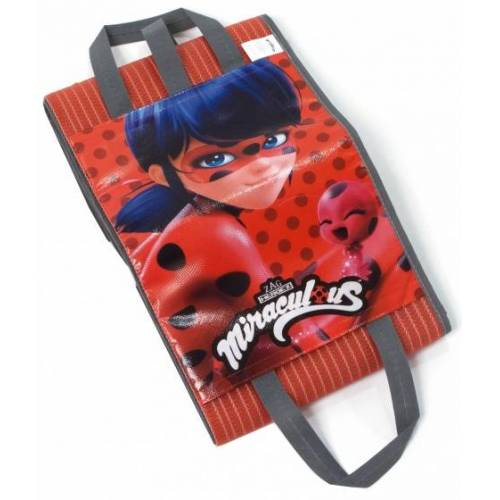 Zagtoon Strandtasche und matt Marienkäfer 150 cm rot