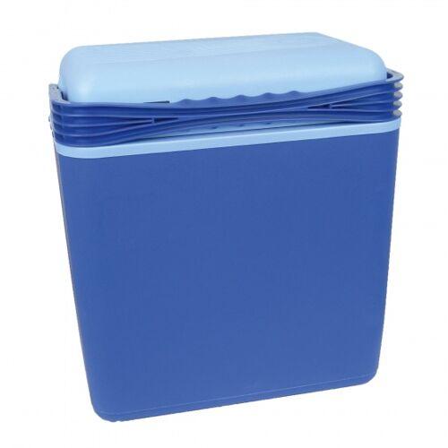 Carpoint Kühlbox 21 Liter mit 12 / 230V Steckern blau