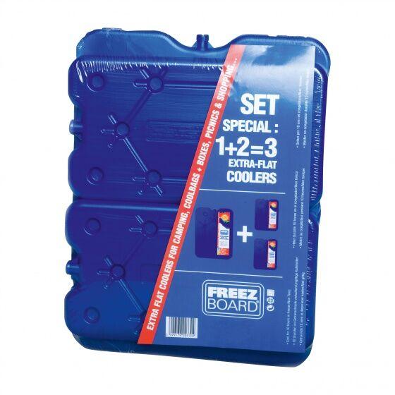 Carpoint kühlkörper Set 3 teilig 1600 Gramm blau