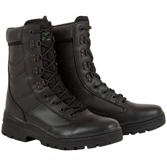 Highlander outdoor Stiefel Delta Leder/Polyester schwarz Größe 43