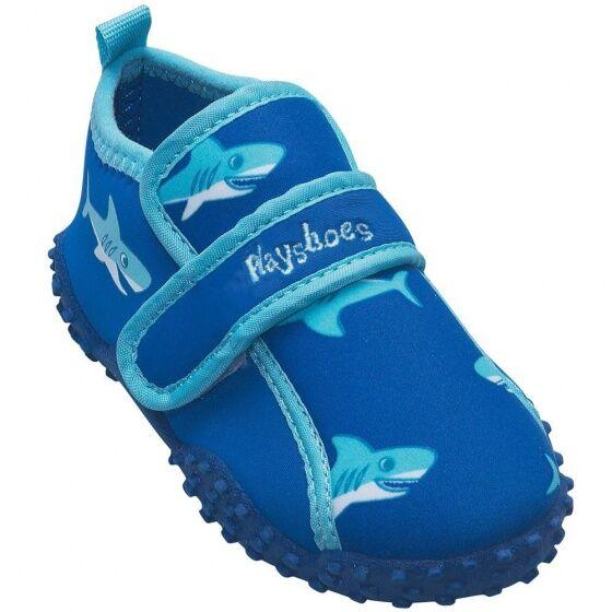 Playshoes wasserschuhe Hai Jungen blau Größe 20/21