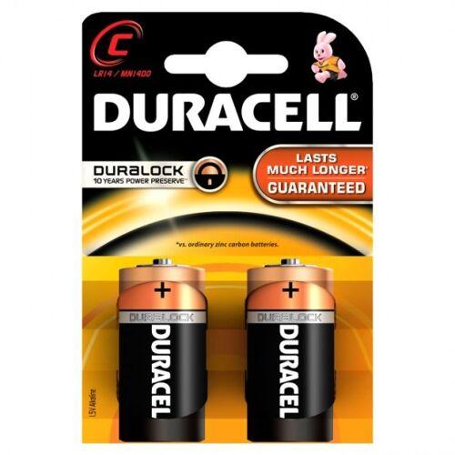 Duracell batterien R14 C alkalisch 2 Stück