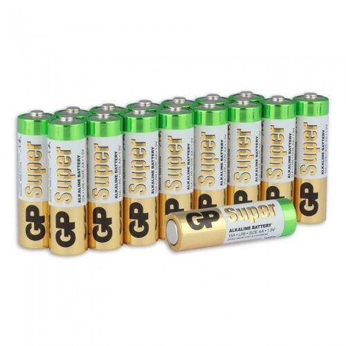 GP Super Alkalische AA Batterien LR06   16 Stück