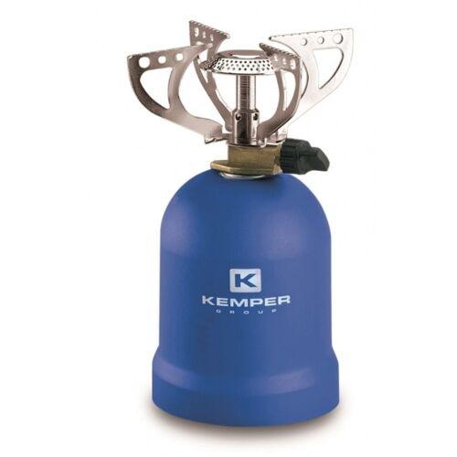Kemper gasherd 1200 Watt blau