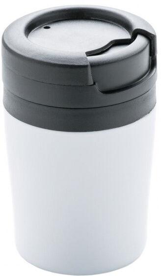 XD Design thermoskanne 0,2 Liter 10 cm Polypropylen/Edelstahl weiß