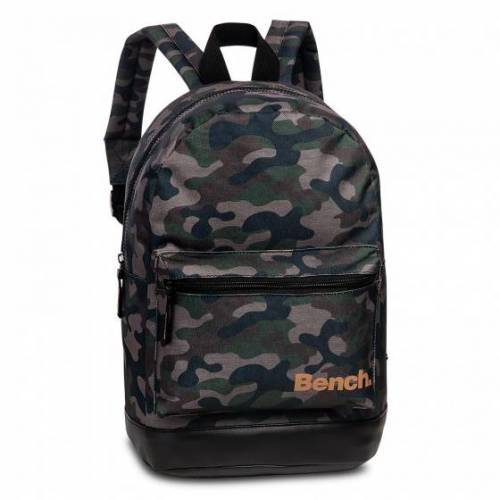 Bench rucksack 34 x 24 cm Polyester Armee grün