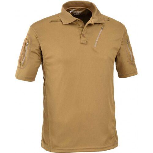Defcon 5 poloshirt Tactical herren polyester beige größe XS