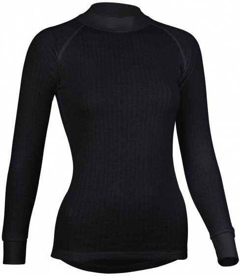 Avento Thermo Long Sleeve Shirt Damen schwarz Größe XL