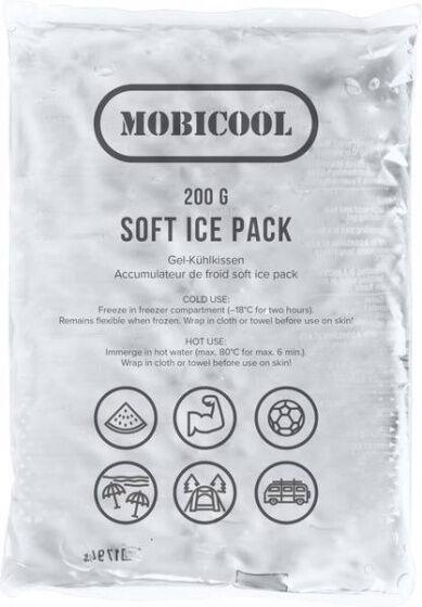 Mobicool kühltasche Soft Ice 200 Gramm 18 x 12 cm transparent