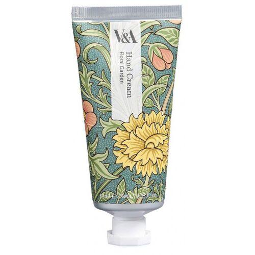 V&A handcreme Floral Garden 50 ml grün/weiß