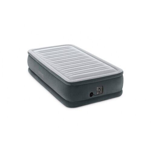 Intex erhöhtes Luftbett eingebaute Pumpe PVC 191 cm schwarz