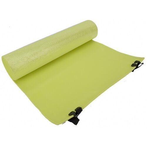 Summit versenkbare Schlafmatte Schaum 180 x 50 cm grün / silber