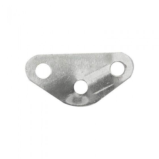 ProPlus abspannseilspanner Dreieck Aluminium 35 mm silber