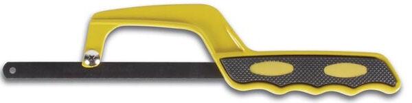 Perel bügelsäge Mini 26,5 cm Stahl grau/gelb