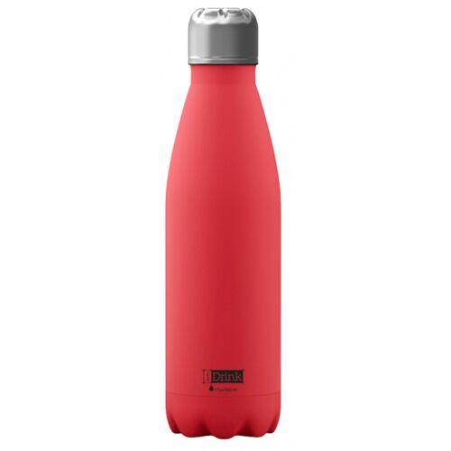 I-Drink I Drink trinkflasche 650 ml Edelstahl rot