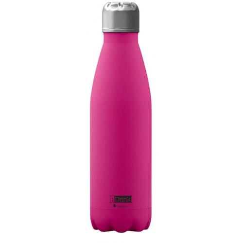 I-Drink I Drink trinkflasche 650 ml Edelstahl rosa