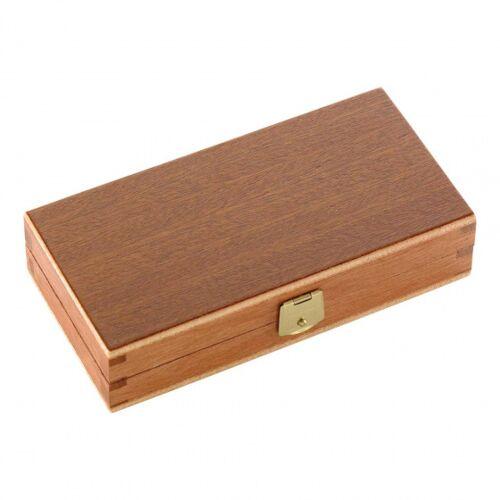 Herbertz messerkasten 14,8 x 7,6 cm Holz/Schaumstoff braun