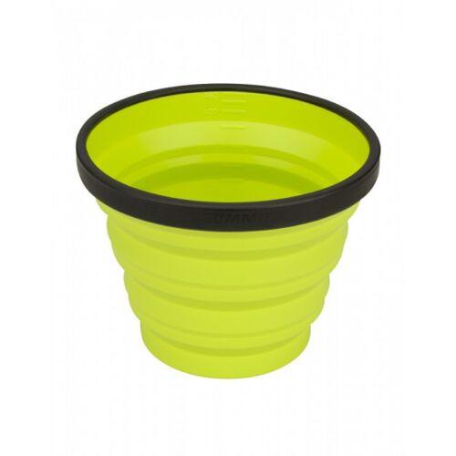 Sea to Summit X mug campinggeschirr faltbarer Becher Limette
