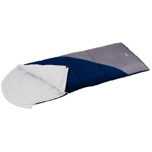 Abbey Schlafsack Pilotmodell 220 x 85 cm navy / grau / blau