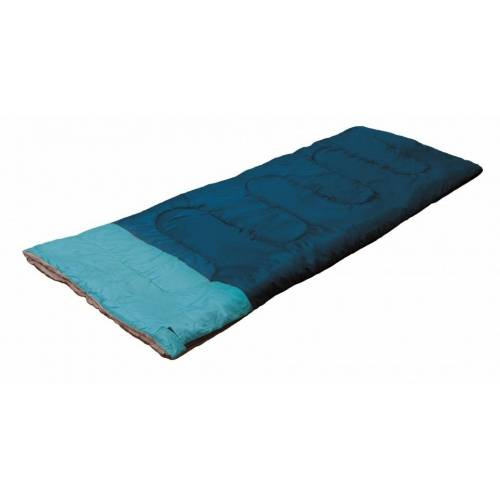 Camp Active schlafsack 190 x 75 cm blau
