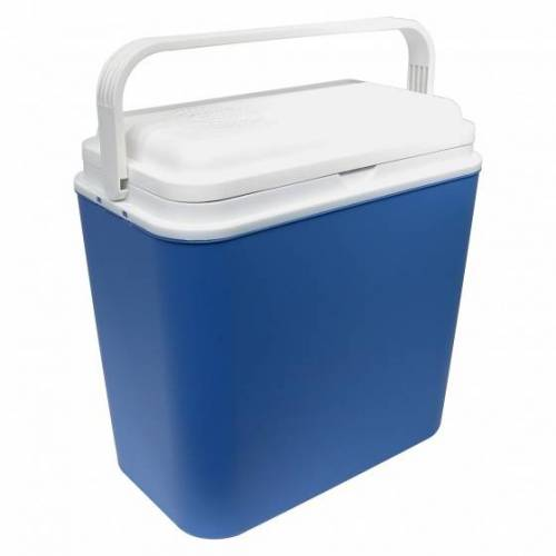 Carpoint Kühlbox Hot & Cold 24 Liter mit 12 / 220V Stecker blau