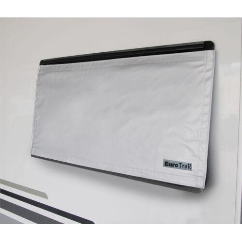 Eurotrail fensterabdeckung 130 x 60 cm Polyester grau