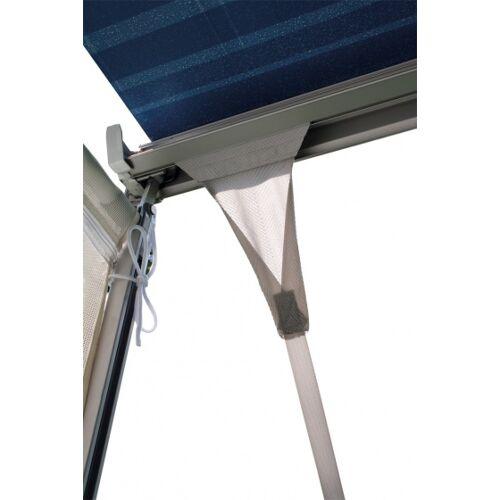 Eurotrail sturmzugmarkisen 78 cm Polyester grau 7 teilig