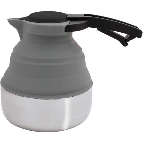 Eurotrail wasserkocher faltbar 1,8 L Silikon/Stahl grau