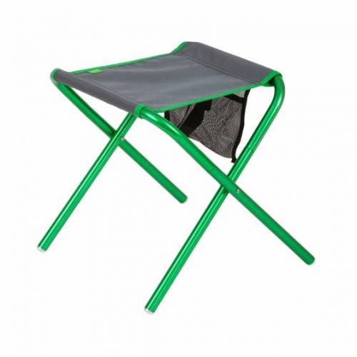 Highlander klappstuhl 36 x 35 cm Aluminium/Polyester grün/grau