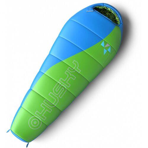 Husky schlafsack Merlot junior 70 x 170 cm Nylon grün/blau