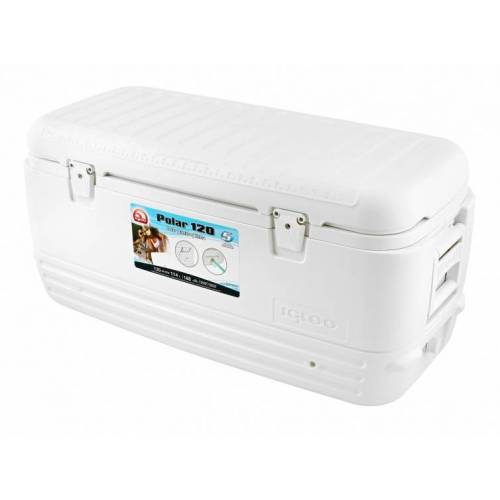 Igloo kühlbox Quick & Cool 120passiv 114 Liter weiß