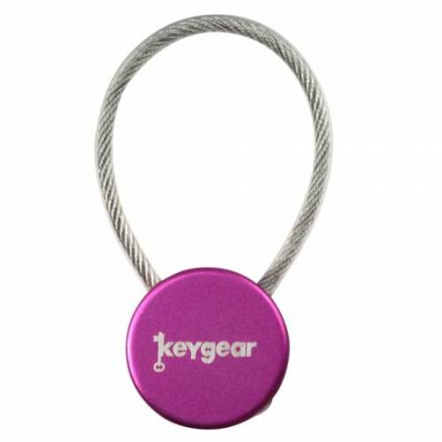 KeyGear vorhängeschloss für Schlüssel 10 cm lila
