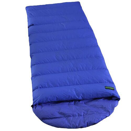 Lowland schlafsack Ranger Comfort NC 230 x 80 cm nylon blau