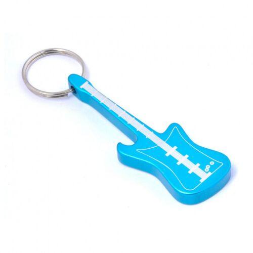 Munkees flaschenöffner Gitarre blauer Stahl 7,7 cm
