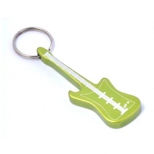 Munkees flaschenöffner Gitarre grüner Stahl 7,7 cm