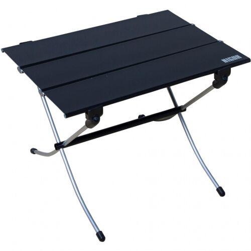 Nigor campingtisch 70 x 60 x 60,5 cm Aluminium schwarz