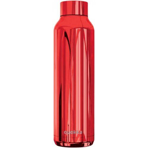 Quokka thermosflasche 360 ml Edelstahl rot