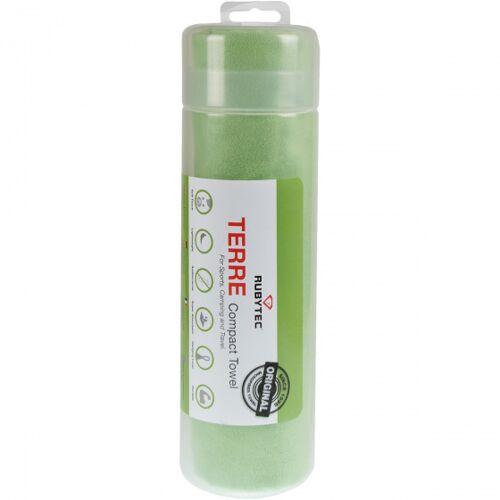Rubytec reisehandtuch Terre90 x 40 cm Mikrofaser grün