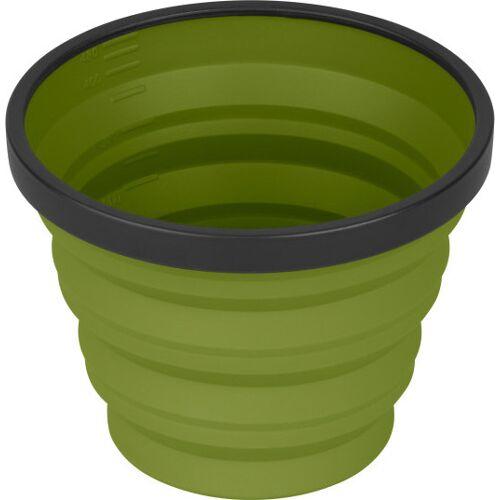 Sea to Summit campingbecher X Cup 250 ml Nylon olivgrün