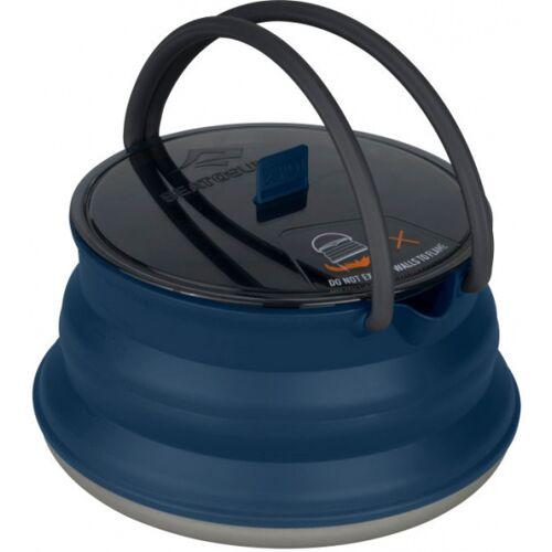Sea to Summit campingpfanne X Pot Kettle 2 Liter Silikon navy