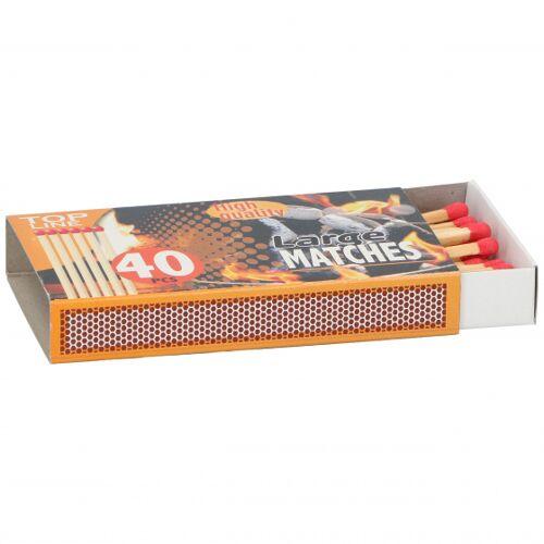 Top Line streichhölzer 11 cm Holz klar 40 Stück